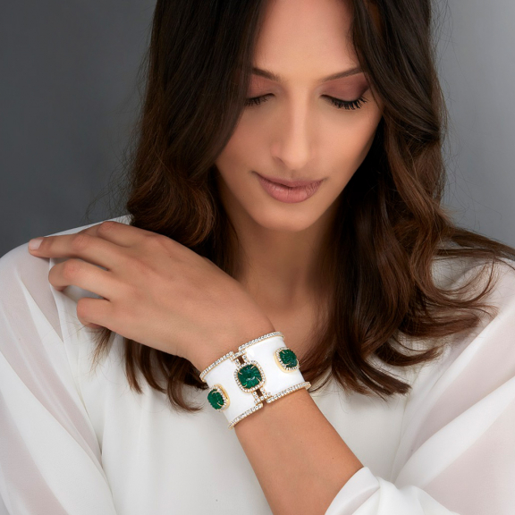 Since 1949<br /> high-end jewelry<br />in Italy and worldwide